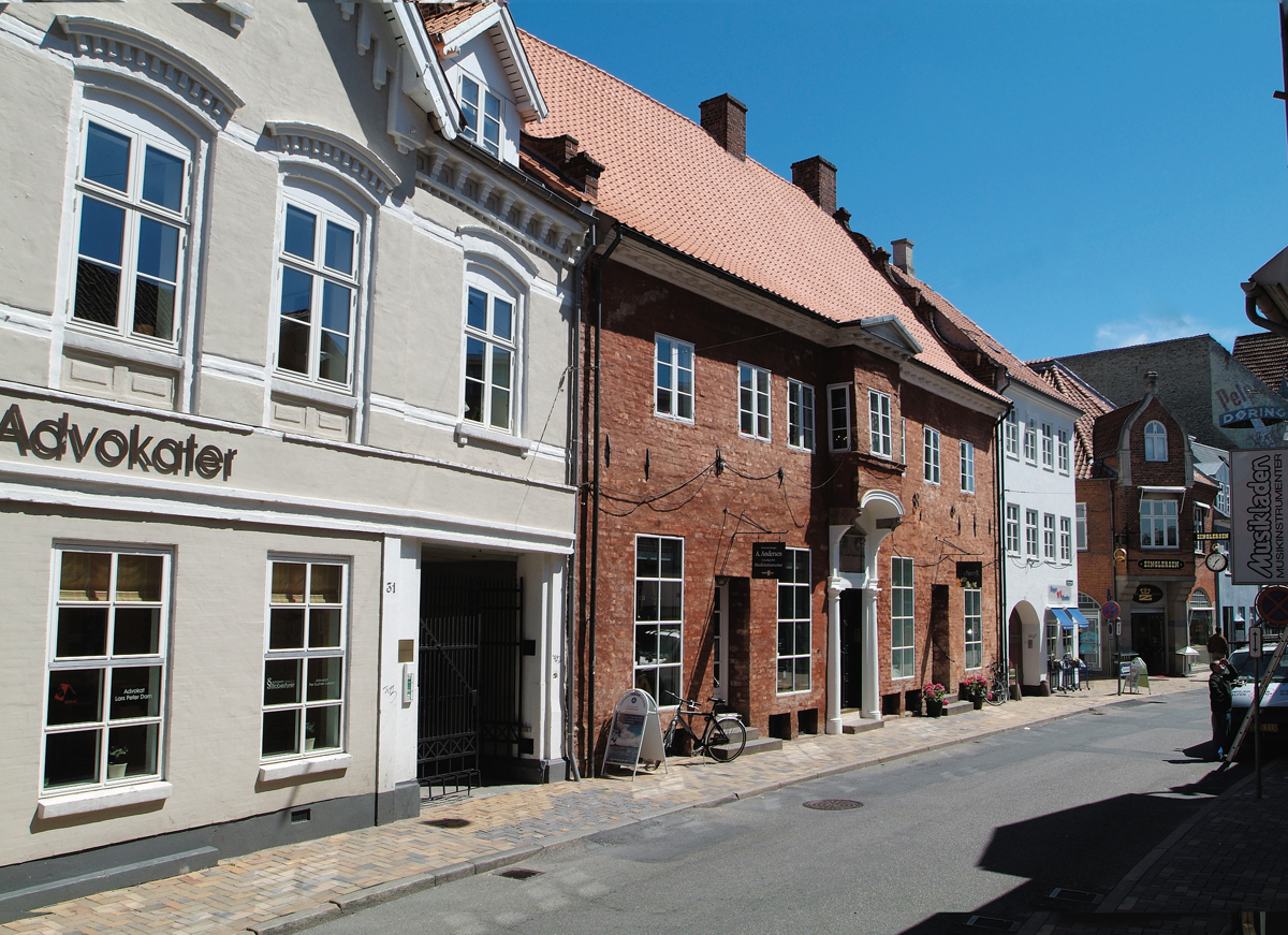 The front seen from the street Nørregade