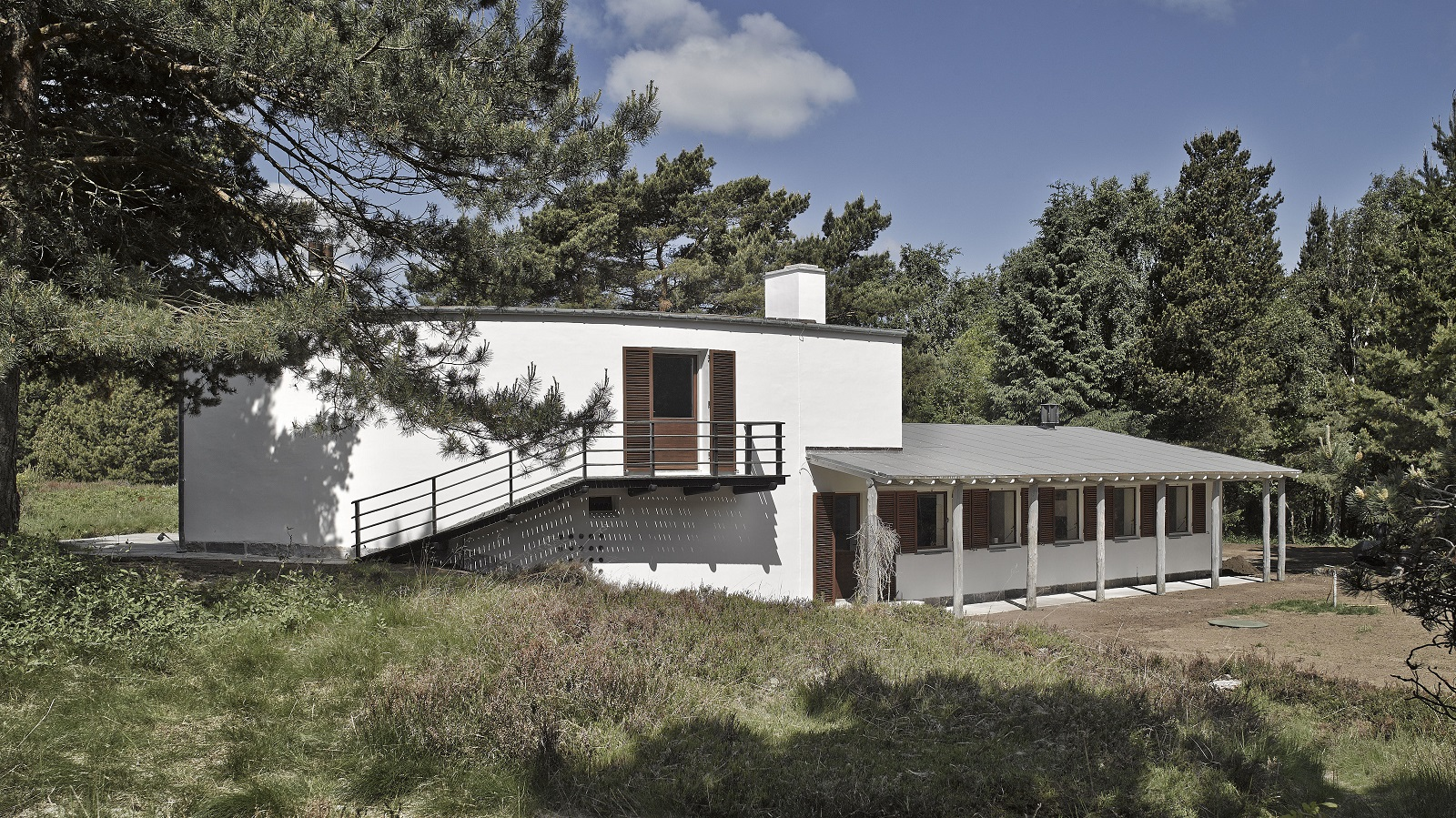 Arne Jacobsens private holiday cottage
